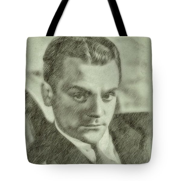 James Cagney By John Springfield Tote Bag