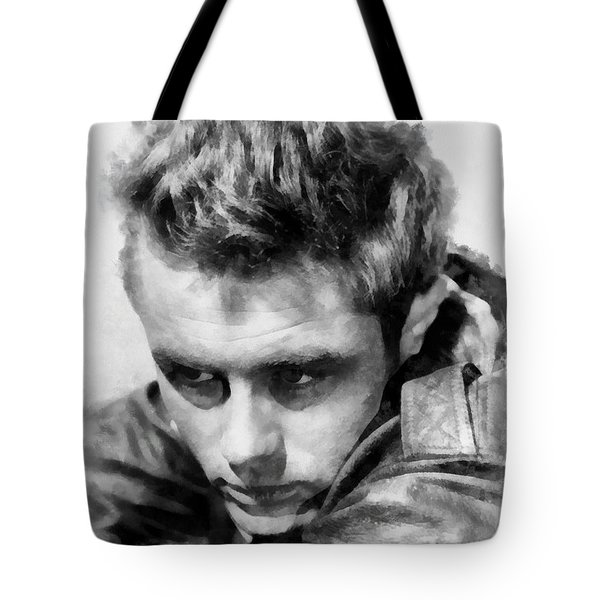 James Dean By John Springfield Tote Bag by John Springfield