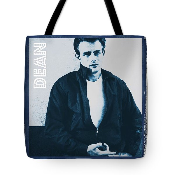 James Dean Tote Bag by John Springfield