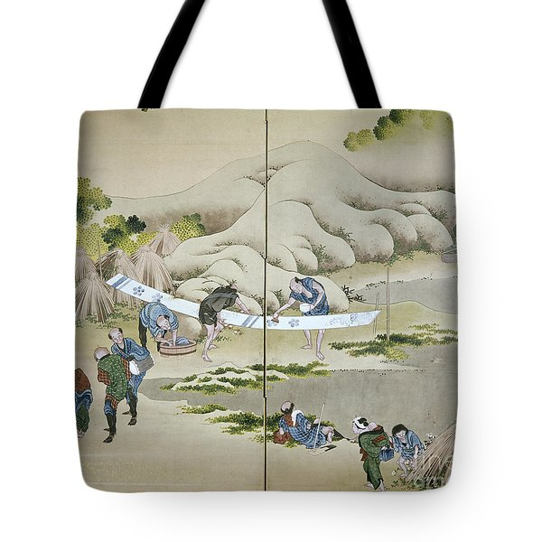 Japan: Cotton Processing Tote Bag by Granger
