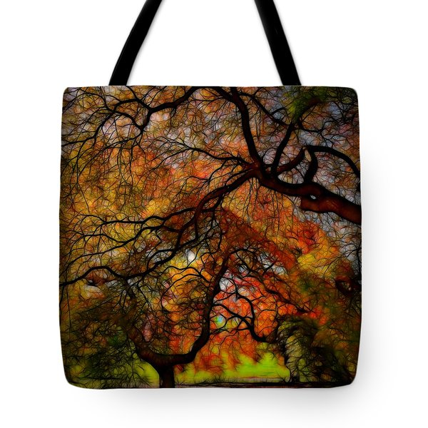 Japanese Maples 2 Tote Bag