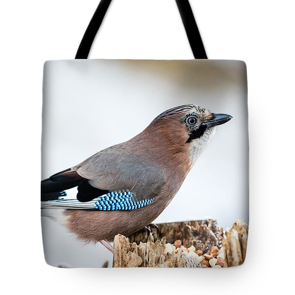 Jay In Profile Tote Bag by Torbjorn Swenelius