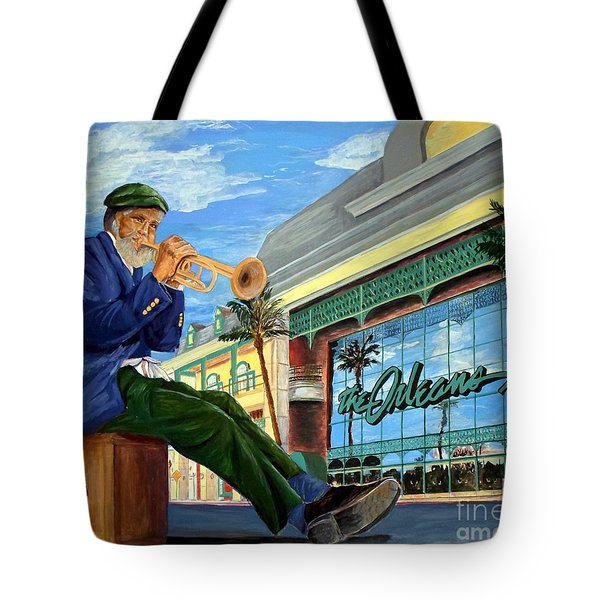 Jazz At The Orleans Tote Bag