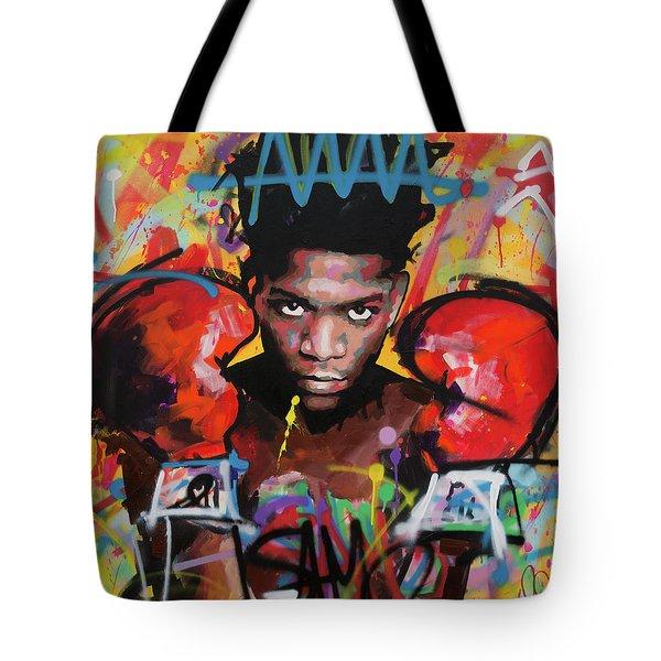 Jean Michel Basquiat Tote Bag