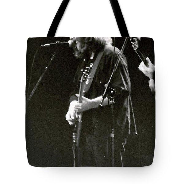 Tote Bag featuring the photograph Grateful Dead - Jerry Garcia - Celebrities by Susan Carella