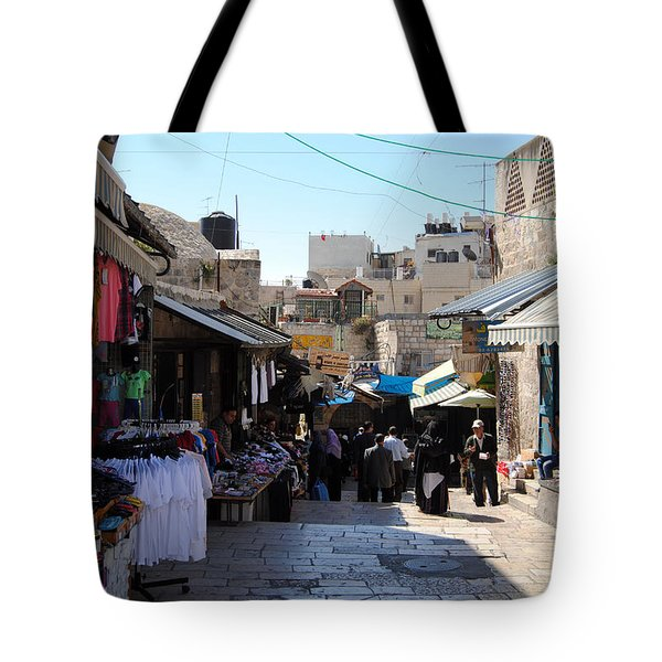 The Old City Of Jerusalem 1 Tote Bag