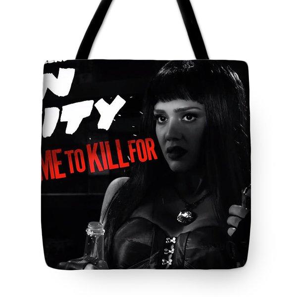 Jessica Alba In Sin City 2 Tote Bag