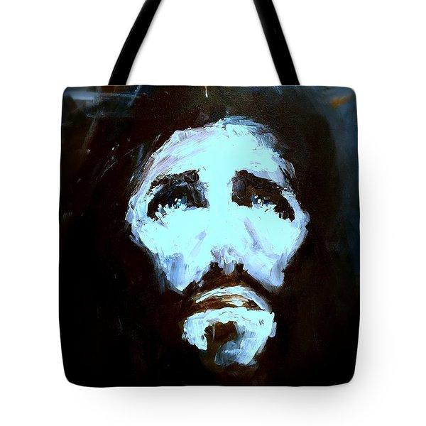 Jesus - 4 Tote Bag by Jun Jamosmos