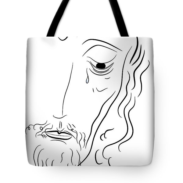 Jesus Christ Tote Bag by Michal Boubin