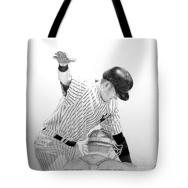 Jeter Tote Bag