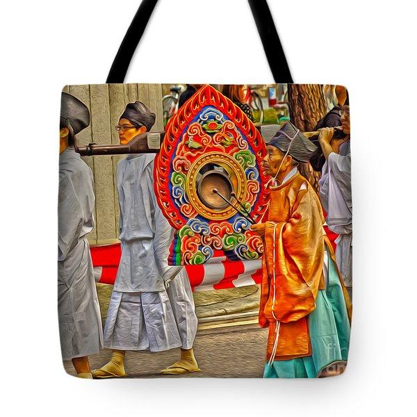 Jidai Matsuri Xxv Tote Bag by Cassandra Buckley