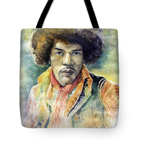 Jimi Hendrix 06 Tote Bag