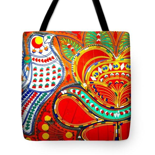 Jinga Bird Tote Bag