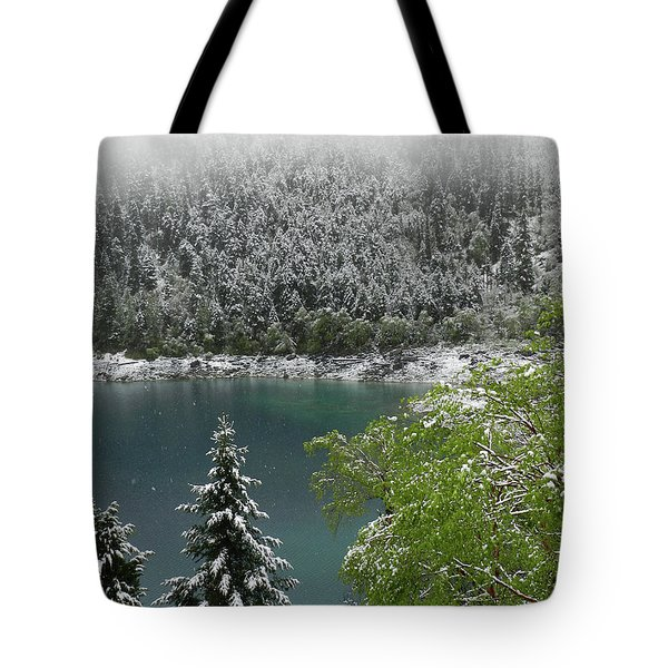 Jiuzhaigou National Park, China Tote Bag