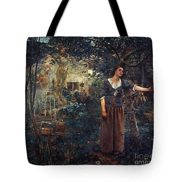 Tote Bag featuring the  Joan Of Arc C1412-1431 by Granger