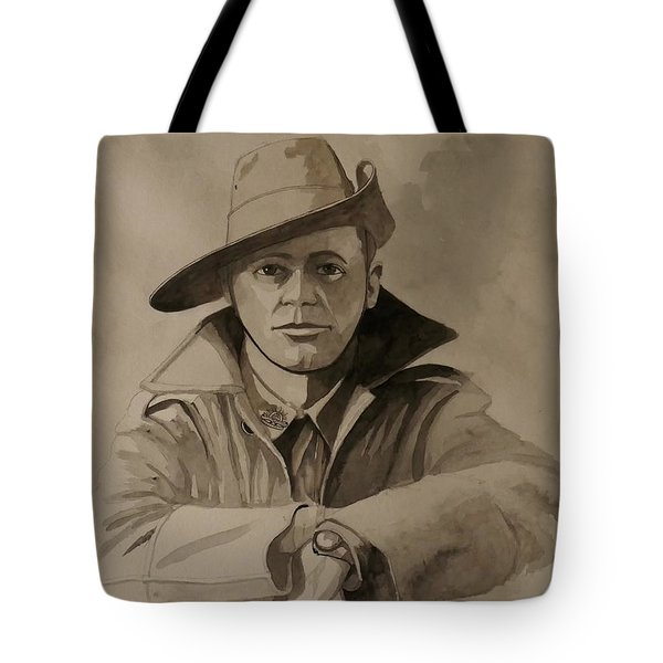 Joe Tote Bag by Ray Agius