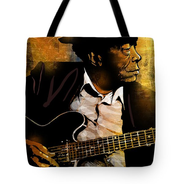 John Lee Hooker Tote Bag by Paul Sachtleben