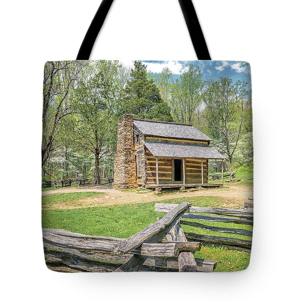 John Oliver Cabin Tote Bag