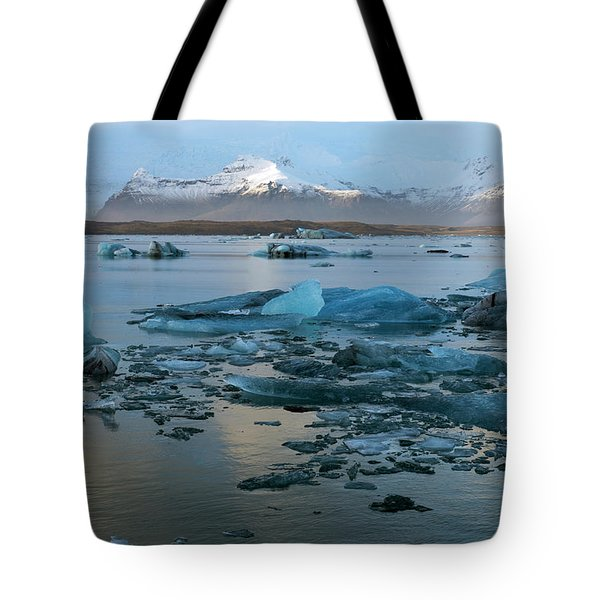 Tote Bag featuring the photograph Jokulsarlon, The Glacier Lagoon, Iceland 5 by Dubi Roman