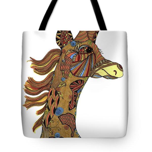 Josi Giraffe Tote Bag