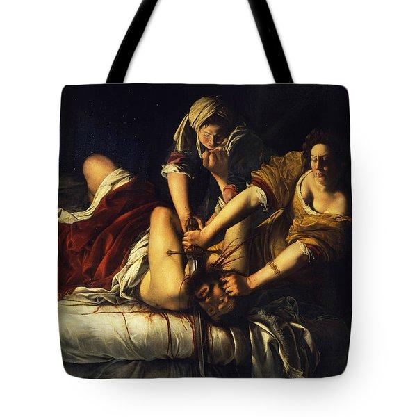 Judith Beheading Holofernes Tote Bag