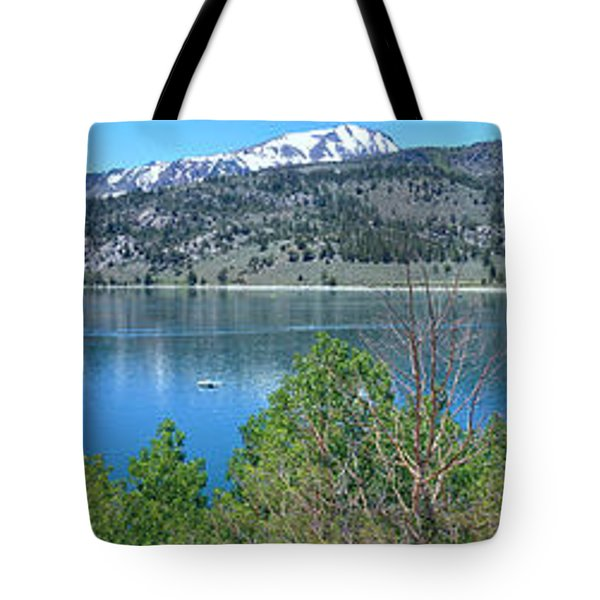 June Lake Panorama Tote Bag
