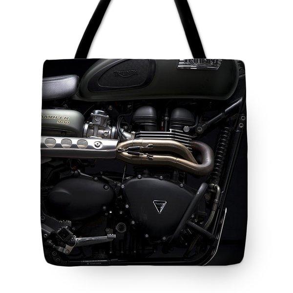 Jurassic Scrambler Tote Bag