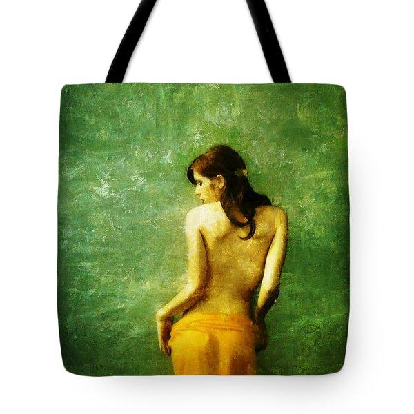 Just A Back Tote Bag by Gun Legler