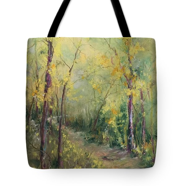 Just A Little Walk Tote Bag