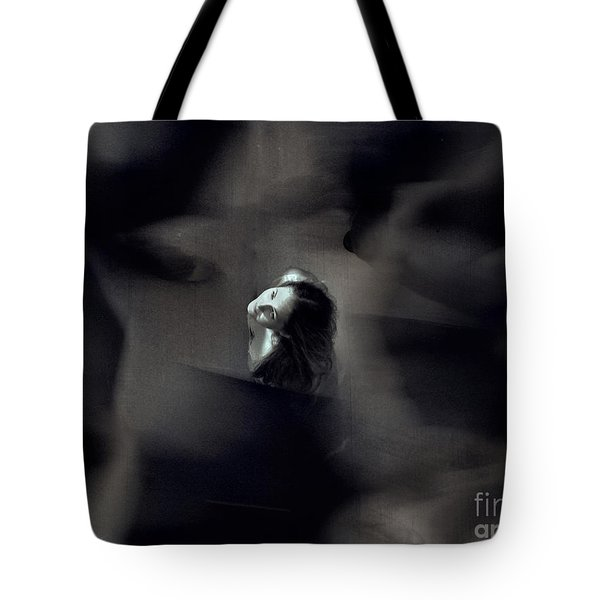 Just For Today I Will Not Be Afraid  Tote Bag