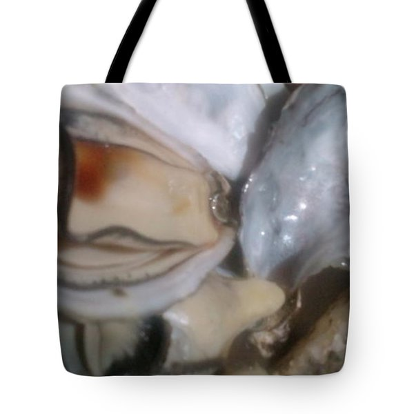 Oysters In Ponzu Vinegar Tote Bag