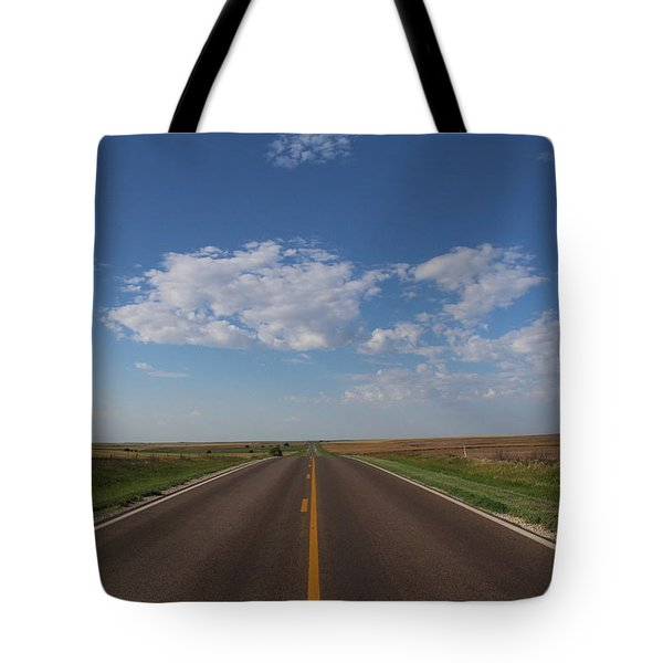 Kansas Road Tote Bag