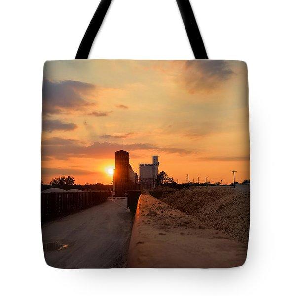 Katy Texas Sunset Tote Bag
