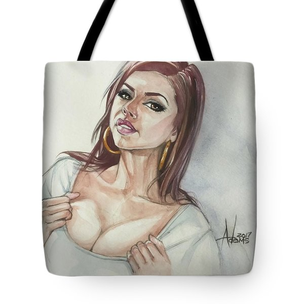 Keisha Grey Tote Bag