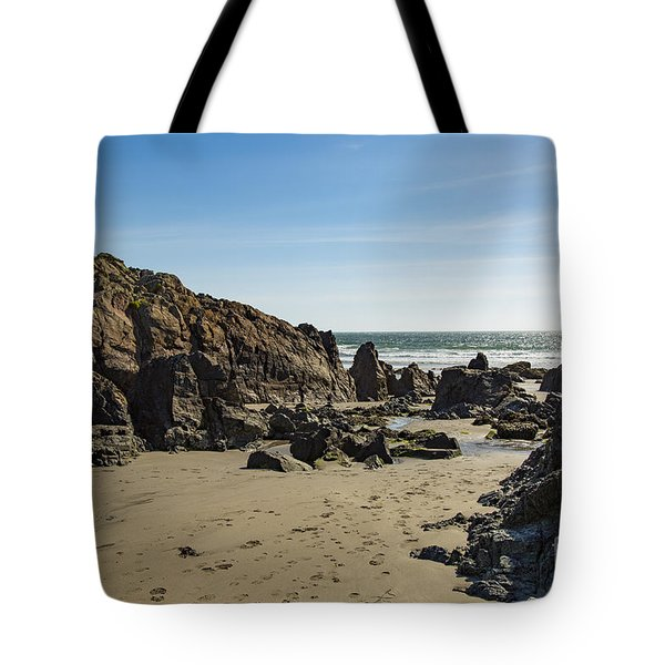Tote Bag featuring the photograph Kennack Sands by Brian Roscorla