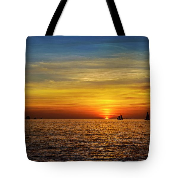 Key West Sunset Tote Bag