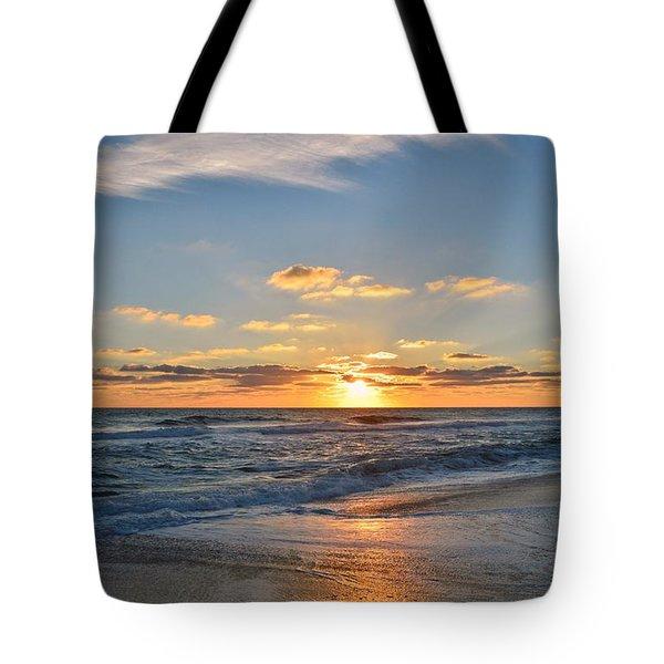 Kill Devil Hills Sunrise Tote Bag