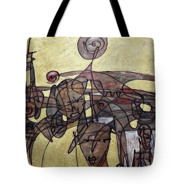 Kissed By The Sun Tote Bag by Ronex Ahimbisibwe