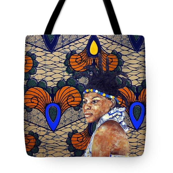 Kitenge Background Series Tote Bag