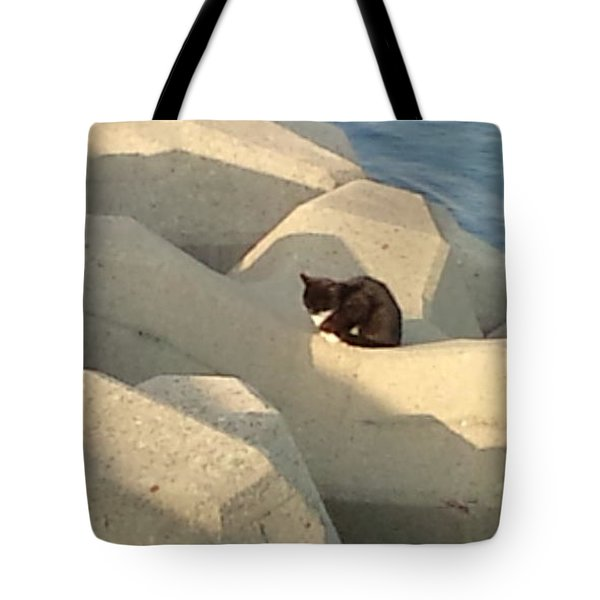 Koneko Means A Kitten. Tote Bag