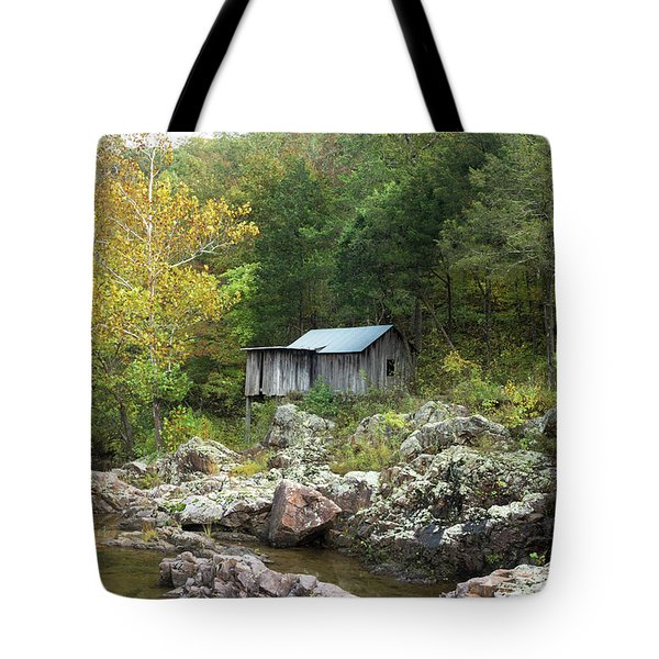 Tote Bag featuring the photograph Klepzig Mill by Julie Clements