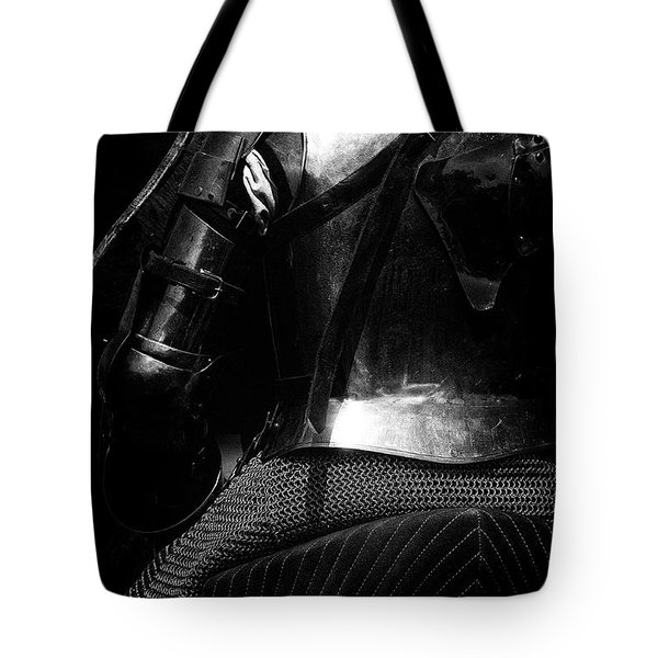 Knights Of Old 15 Tote Bag by Bob Christopher