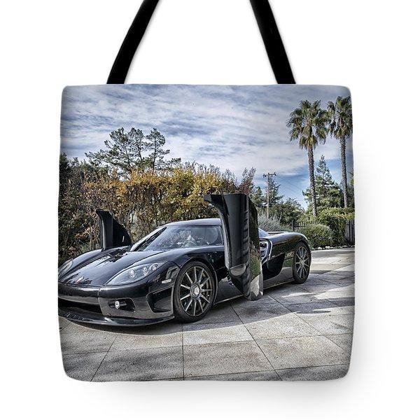 Koenigsegg Ccx Tote Bag