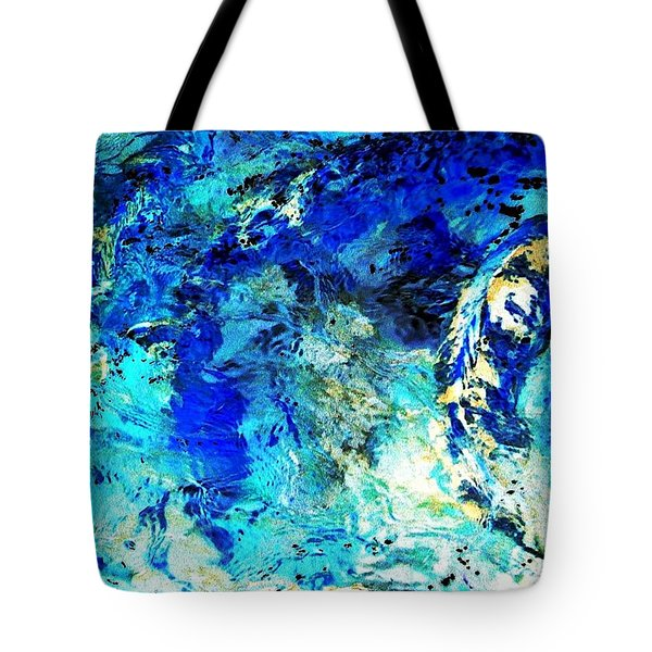 Koi Abstract Tote Bag