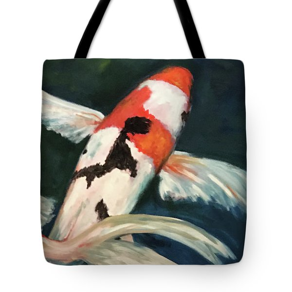 Koi Dance Tote Bag