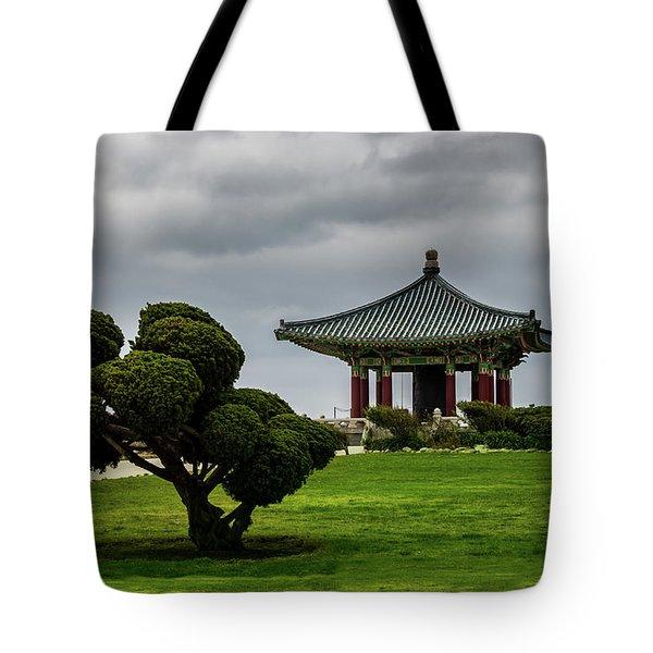 Korean Bell Of Friendship Tote Bag