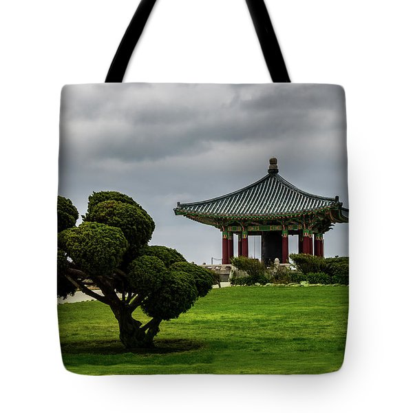 Korean Bell Of Friendship Tote Bag