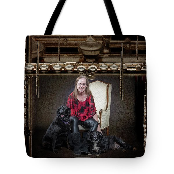 Krishin Blaise 002 Tote Bag by M K  Miller