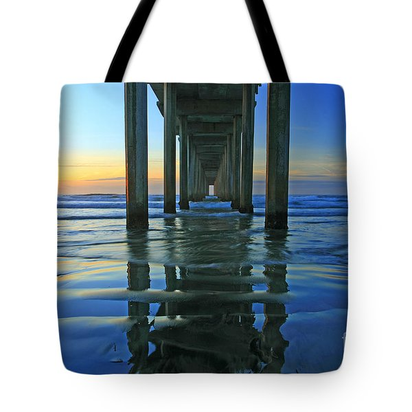 La Jolla Blue  Tote Bag