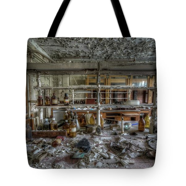 Lab 1 Tote Bag by Nathan Wright